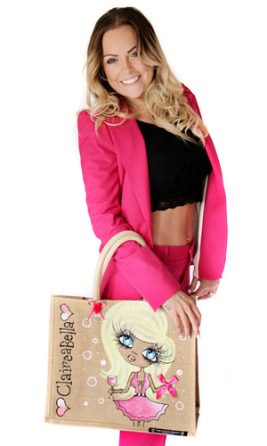 Claire Barratt, founder of ClaireaBella - August 2015.