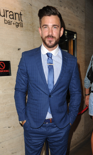 Dan Hooper at the Manchester Fashion Industry show held at The Restaurant Bar And Grill - Arrivals - 2 August 2015.