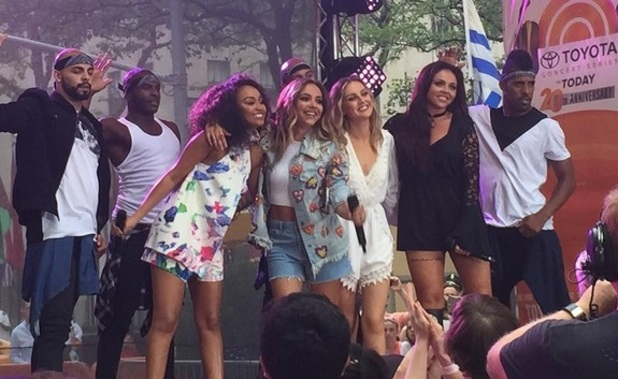 Little Mix on Today Show