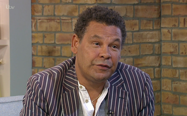 Craig Charles appears on 'This Morning' to discuss his current Corrie storylines and DJ tour Funk And Soul Club - 19 Aug 2015.