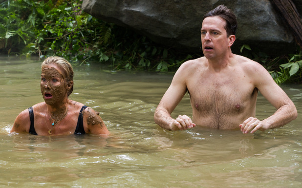 Vacation movie - Ed and Debbie Griswold end up swimming in raw sewage. August 2015.
