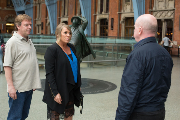 EastEnders, Sharon and Ian confronts Phil, Fri 21 Aug