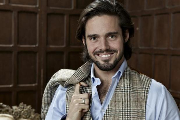 Made In Chelsea treat fans to a Spencer Matthews throwback photo. 20 August 2015.