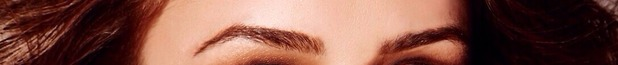Brooke Vincent's eyebrows - for use on Brooke's blog. 18 August 2015.