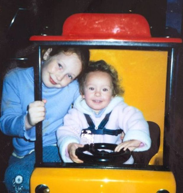 Caring for carers - Iona Shanks with little sister Sophie