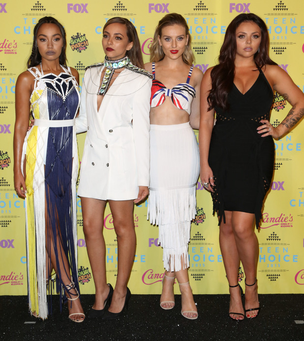 Perrie Edwards, Jesy Nelson, Jade Thirlwall, Leigh Anne Pinnock at the Teen Choice Awards, 16th August 2015