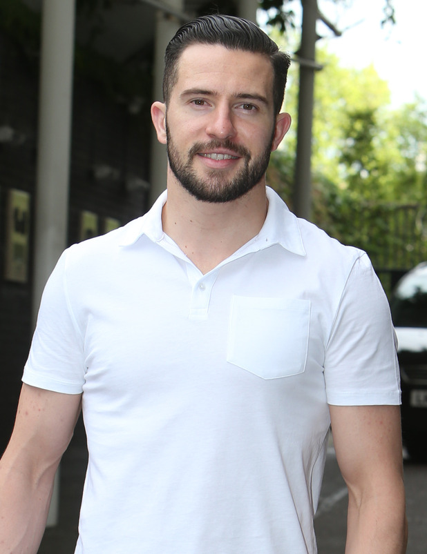 Emmerdale actor Michael Parr outside ITV Studios - London, United Kingdom - 2 July 2015.