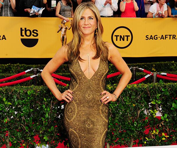Jennifer Aniston on the red carpet 2015