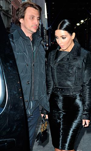 Kim Kardashian out shopping in New York with Jonathan Cheban 2015