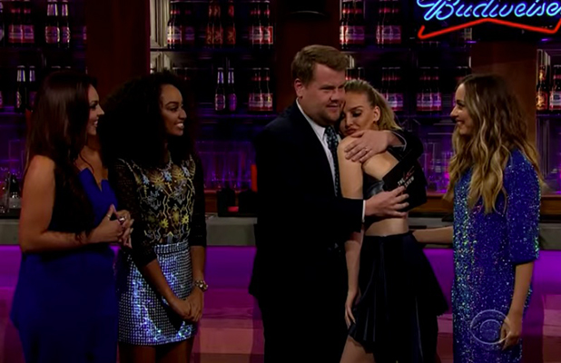 James Corden's Late, Late Show: Little Mix perform and are interviewed 17 August 2015