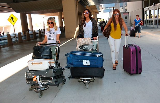 Jessica Wright and Danielle Armstrong are ready for Las Vegas 17 August 2015