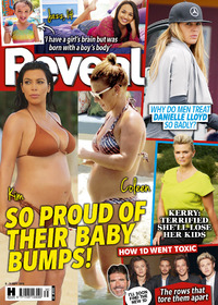 Reveal magazine cover: so proud of their bumps