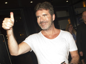 Simon Cowell at The X Factor launch in London 26 August
