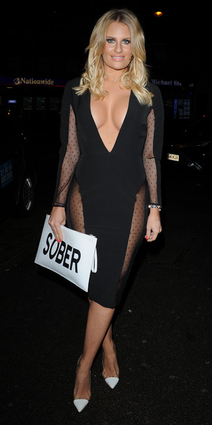 Danielle Armstrong at Nu Bar in Essex, 29 August 2015