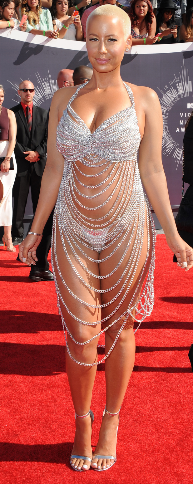 Amber Rose at the MTV Video Music Awards 2014, 27th August 2015