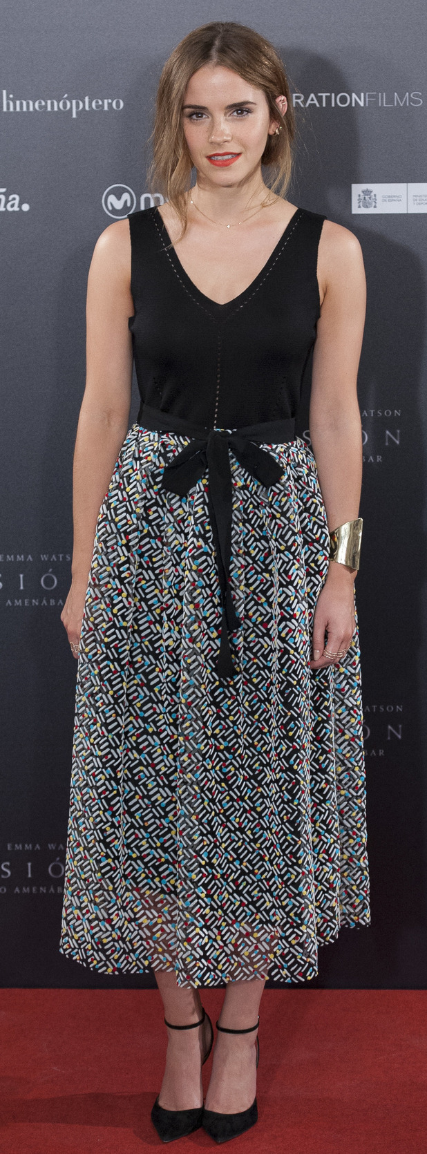 Emma Watson seen at the Regression Photocall 27th August 2015
