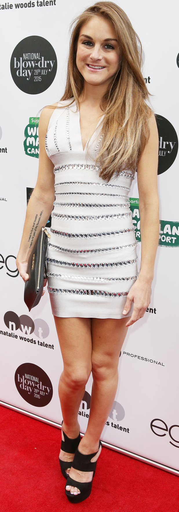 Nikki Grahame at the Macmillan cancer support party 26th August 2015