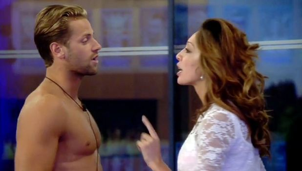 Celebrity Big Brother 2015: Farrah Abraham and James Hill argue.