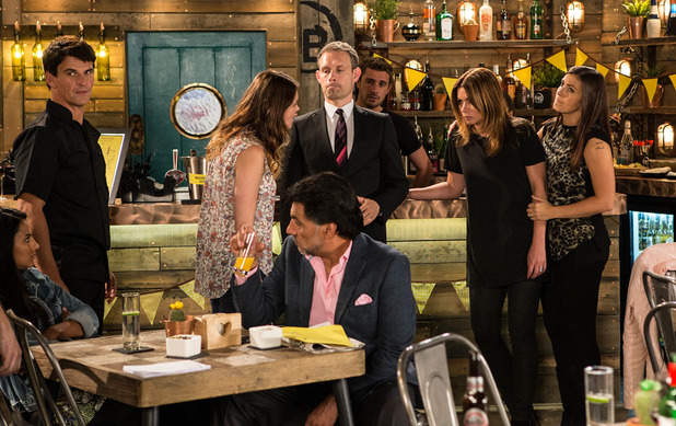 Corrie, Carla drunk and Tracy guilty, Mon 31 Aug