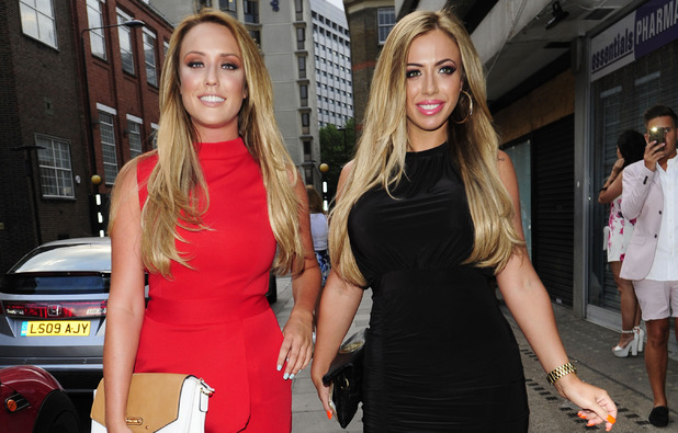 Holly Hagan and Charlotte Crosby at the In The Style summer party, London 16 July