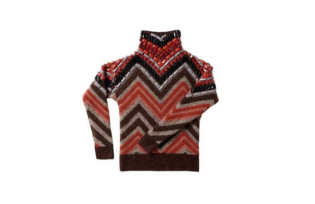 Chevron print sweater from the H&M autumn/winter collection £49.99