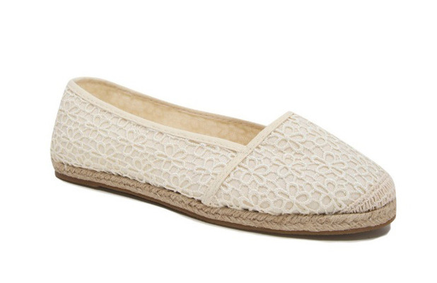 Cream coloured embroidered pumps £8 George at ASDA 26th August 2015