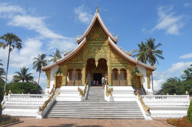 Haw Pha Bang Temple, Luang Prabang, Laos, 30/8/15