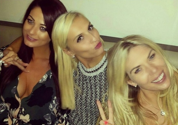 Jess Hayes, Zoe Basia Brown and Frankie Essex out in Loughton 27 Aug
