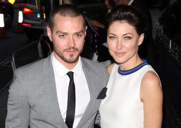 Emma Willis and husband Matt at the Glamour Awards 2015 2 June