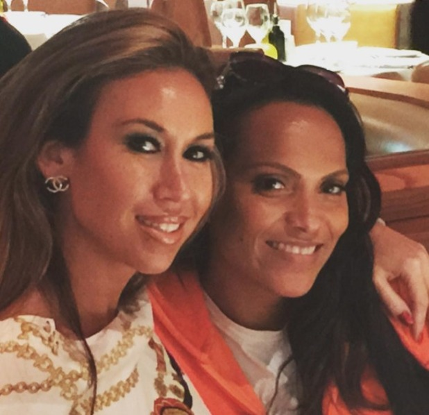 Magali Gorre with Ampika Pickston from Real Housewives of Cheshire