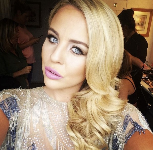 Lydia Bright stuns in glam make-up by Lyndsey Harrison, 5 August 2015