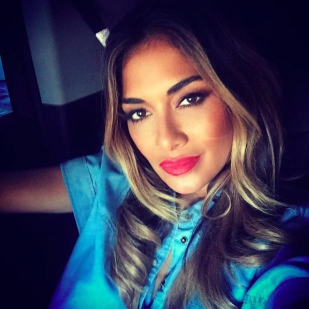 Nicole Scherzinger posts stunning selfie, 30 August 2015