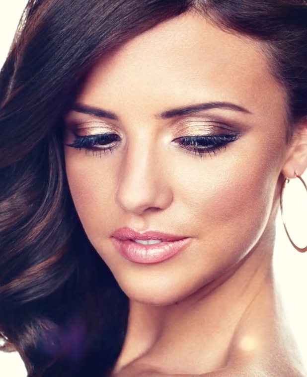 Lucy Mecklenburgh posing on Sunkissed bronzing shoot 26th August 2015