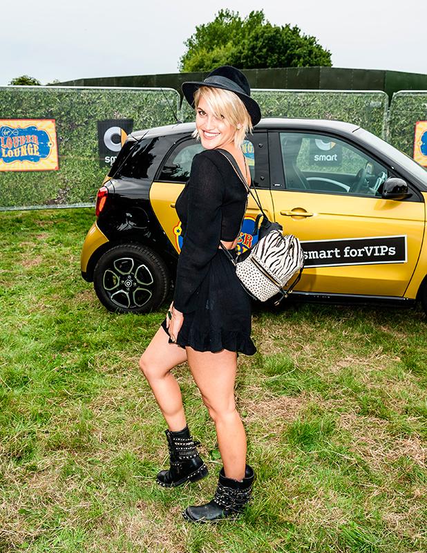 Ashley Roberts at Virgin Media's V Festival
