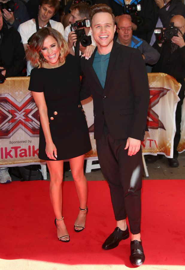 The X Factor press launch held at the Picturehouse Caroline Flack, Olly Murs