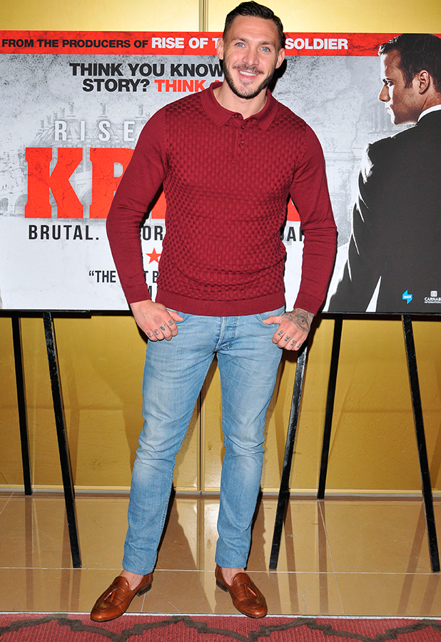 'Rise of the Krays' film screening, London, Britain - 26 Aug 2015 Kirk Norcross