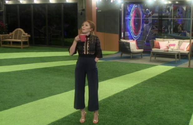 Celebrity Big Brother 2015 Farrah talks to Natasha