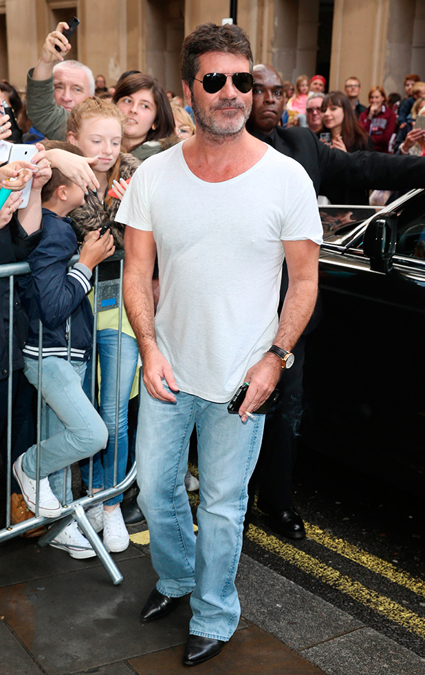 The X Factor press launch held at the Picturehouse Simon Cowell