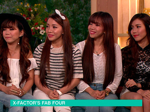 X Factor's 4th Power all smiles at ITV after shrugging off controversy