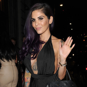 Cami Li, Ex On The Beach screening at Steam and Rye, London 1 September