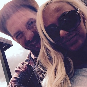 Kirk Norcross and girlfriend Holli Willis 9 July