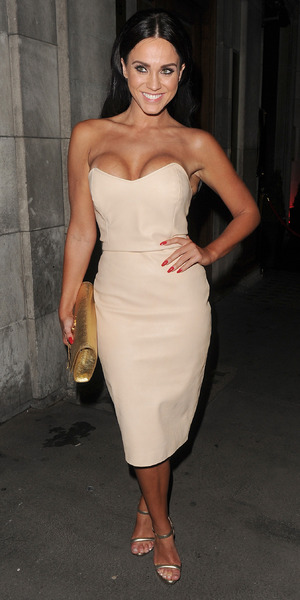 Vicky Pattsion, Ex On The Beach screening at Steam and Rye, London 1 September