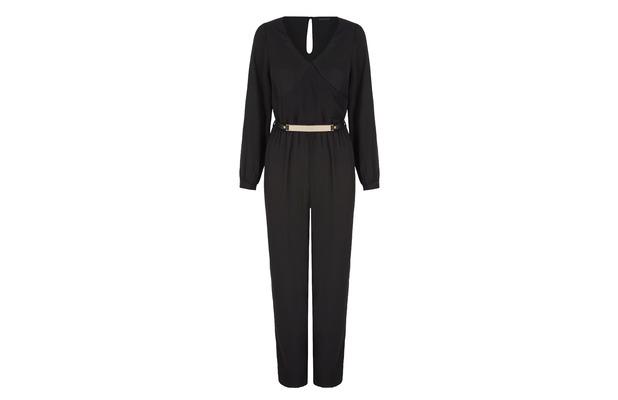 Stacey Solomon for Oli.co.uk black jumpsuit £70, 2nd September 2015