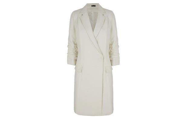 Stacey Solomon for Oli.co.uk white jacket £65 2nd September 2015