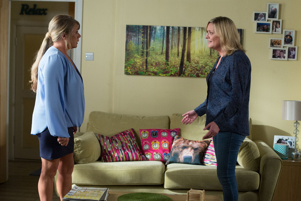 EastEnders, Janes confides in Sharon, Tue 8 Sep