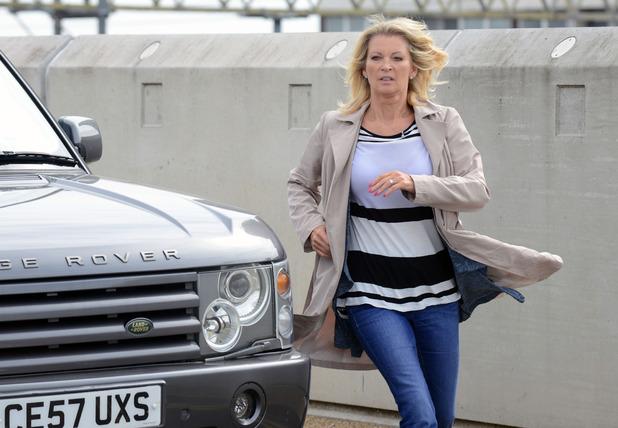 EastEnders, Kathy returns, behind the scenes image