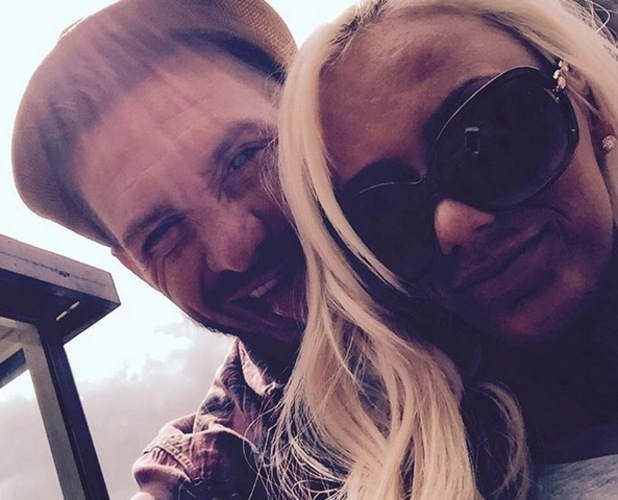 Kirk Norcross and girlfriend Holli Willis 9 July