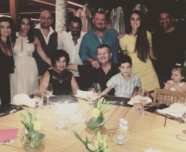 Peter Andre celebrates his parents' wedding anniversary - 5 Sep 2015