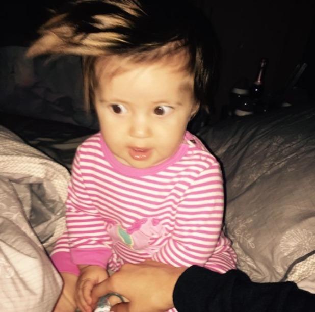 Jacqueline Jossa shares new Ella picture - 5 Sep 2015