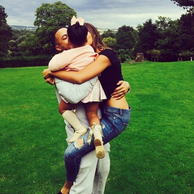 Rochelle and Marvin Humes move into a new home 4 September